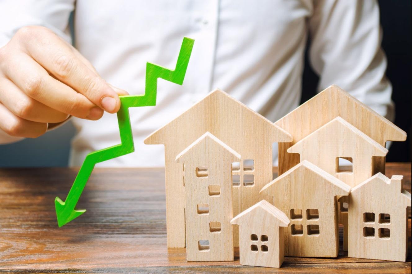 La baisse des taux de crédits immobiliers