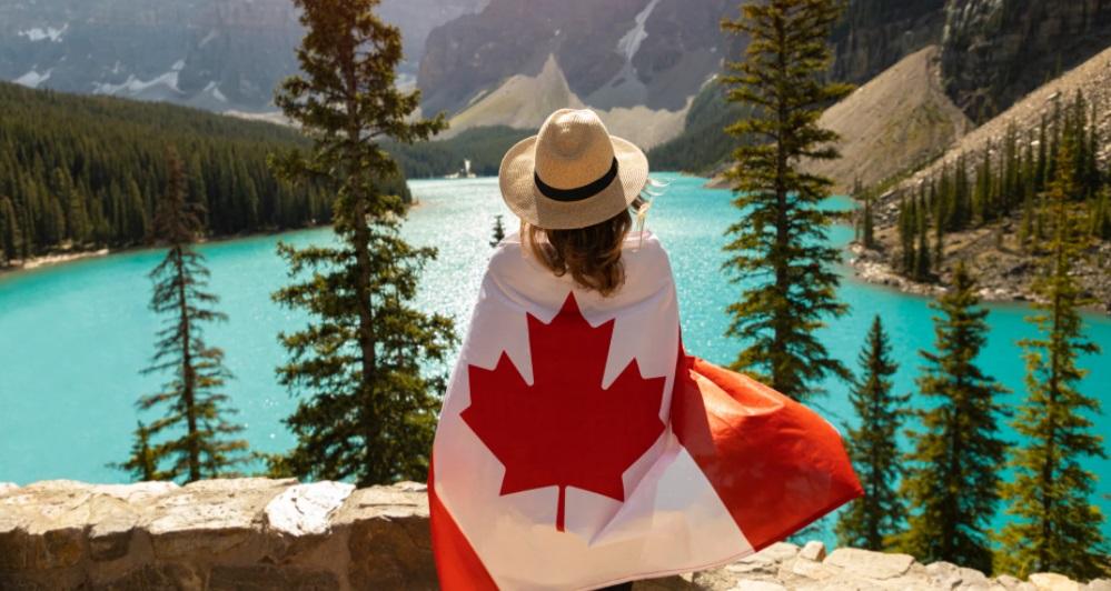 Canadienne paysage